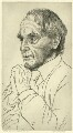 Henry Moore, by Edgar Holloway - NPG D37804