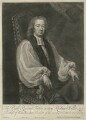 Richard Willis, by John Simon, sold by  Thomas Bowles Jr, after  Michael Dahl - NPG D37097