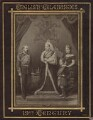 King Edward VII; Queen Victoria; Prince Albert Victor, Duke of Clarence and Avondale; Queen Alexandra, published by Hughes & Edmonds - NPG Ax132896