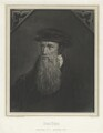 John Knox, by Louis Joseph Ghémar, for  Schenck & Ghémar, after  Adrian Vanson (van Son) - NPG D37115