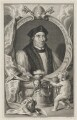 John Fisher, by Jacobus Houbraken, after  Hans Holbein the Younger - NPG D36929