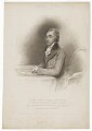 Aylmer Bourke Lambert, by William Evans, published by  T. Cadell & W. Davies, after  Henry Edridge - NPG D37137