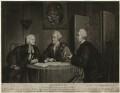 John Glynn; John Wilkes; John Horne Tooke, by Richard Houston, published by  Robert Sayer, published by  John Smith of Cheapside - NPG D37522