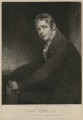 Sir David Wilkie, by and published by John Young, after  Sir William Beechey - NPG D37529