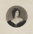 Mary Frances Fitzgerald, by George Raphael Ward, after  Sir Thomas Lawrence - NPG D36943