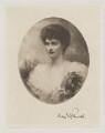 Lady Inez Charlotte Grace Fitzgerald (née Caseberd Botelier), by Frederick John Jenkins, after  Edward Hughes - NPG D36944