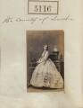 Henrietta Adela Pelham-Clinton (née Hope), Duchess of Newcastle, by Camille Silvy - NPG Ax55119