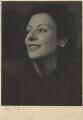 Phyllis Bergel (née Thomas), by Trude Fleischmann - NPG x133151