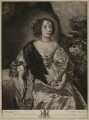 Philadelphia, Lady Wharton, by Robert Dunkarton, published by  John Boydell, after  Sir Anthony van Dyck - NPG D37542