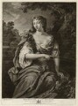 Anne Wharton (née Lee), by Richard Earlom, after  Sir Peter Lely, published by  John Boydell - NPG D37545