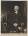 William Wentworth Fitzwilliam, 2nd Earl Fitzwilliam, by and published by Samuel William Reynolds, after  William Owen - NPG D36957