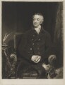 William Wentworth Fitzwilliam, 2nd Earl Fitzwilliam, by and published by Samuel William Reynolds, after  William Owen - NPG D36958