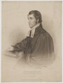 Alexander Fletcher, by Samuel Freeman, published by  E. Wilson, after  T.C. Smith - NPG D36977