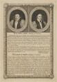 William Laud; William Juxon, by George Vertue - NPG D37185