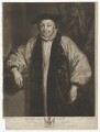 William Laud, by James Watson, published by  John Boydell, after  Sir Anthony van Dyck - NPG D37189