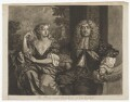 John Maitland, Duke of Lauderdale; Elizabeth Murray, Duchess of Lauderdale and Countess of Dysart, by Robert Williams, published by  Richard Tompson, after  Sir Peter Lely - NPG D37192