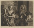 John Maitland, Duke of Lauderdale; Elizabeth Murray, Duchess of Lauderdale and Countess of Dysart, by Robert Williams, published by  Richard Tompson, after  Sir Peter Lely - NPG D37193