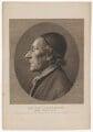 Johann Caspar Lavater, by William Blake, published by  Joseph Johnson - NPG D37198