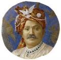 Ranjitsinhji ('Ranji') Vibhaji, Maharaja Jam Sahib of Navanagar, by Lafayette (Lafayette Ltd) - NPG x133159