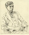 Herbert Read, by Edgar Holloway - NPG D37805