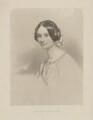 Lady Adelaide Emeline Caroline Law (née Vane), by Joseph Brown, after  John Hayter - NPG D37206