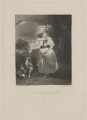 Catherine (née Pelham-Clinton), Viscountess Folkestone, by Samuel William Reynolds, published by  Henry Graves & Co, after  Sir Joshua Reynolds - NPG D36994