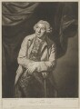 Samuel Foote, by Thomas Blackmore, published by  William Wynne Ryland, after  Sir Joshua Reynolds - NPG D37709