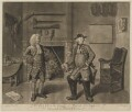 Mr Foote in the Character of Major Sturgeon in the Mayor of Garrat (Mr Hayes; Samuel Foote), by John Gottfried Haid, published by  John Boydell, after  Johan Joseph Zoffany - NPG D37712
