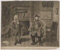 Mr Foote in the Character of Major Sturgeon in the Mayor of Garrat (Mr Hayes; Samuel Foote), by John Gottfried Haid, published by  John Boydell, after  Johan Joseph Zoffany - NPG D37713