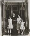 Queen Elizabeth II; King George VI; Queen Elizabeth, the Queen Mother; Princess Margaret, by Marcus Adams - NPG x132908