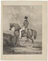 Arthur Wellesley, 1st Duke of Wellington, after J. King - NPG D37620