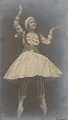 Lydia Lopokova in 'Petrouchka', by Emil Otto ('E.O.') Hoppé - NPG P1352