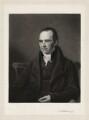 Charles Wellbeloved, by Henry Cousins, after  James Lonsdale - NPG D37635
