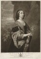 Jane Goodwin (née Wenman), by Josiah Boydell, published by  John Boydell, after  Sir Anthony van Dyck - NPG D37646