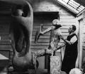 Henry Moore, by Ida Kar - NPG x88726