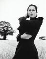 Amanda Jane (née Grieve), Lady Harlech, by Hollister Lowe - NPG x133178