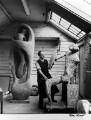 Henry Moore, by Ida Kar - NPG x88727