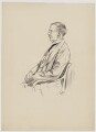 Maurice Buxton Forman, by Wig - NPG D37732