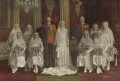 'The Wedding of 6th Earl of Harewood and Princess Mary', by Vandyk - NPG x74770