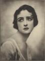 Hebe (née Constance Irene Vesselier, later Mrs Kingsland), by Emil Otto ('E.O.') Hoppé - NPG Ax132927