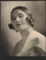 Fedora Roselli ((Edith) Dora Bernard (née Hodges)), by Emil Otto ('E.O.') Hoppé - NPG Ax132936