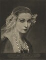 Hazel (née Martyn), Lady Lavery, by Emil Otto ('E.O.') Hoppé - NPG Ax132944