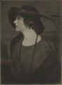 Julia Hoyt (née Robbins), by Emil Otto ('E.O.') Hoppé - NPG Ax132945