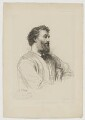 Frederic Leighton, Baron Leighton, by Paul Adolphe Rajon, printed by  Chardon, published by  The British and Foreign Artists' Association, after  George Frederic Watts - NPG D37284