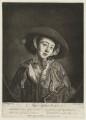 Sophia Weston, by John Raphael Smith, published by  Mary Ashley (née Wickstead), formerly Mrs Worlidge, after  Thomas Worlidge - NPG D37837