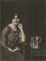 Maria Isabel Regina Aspasia Vaughan (née de Bittencourt), Countess of Lisburne, by Emil Otto ('E.O.') Hoppé - NPG Ax132950