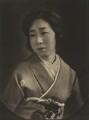 Mrs Iyemasa Tokugawa, by Emil Otto ('E.O.') Hoppé - NPG Ax132957