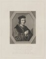 Sir John Fortescue, by Robert Graves, after  William Faithorne - NPG D37753