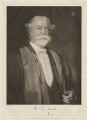 Sir Adolphus William Ward, by Sir Emery Walker, after  Hugh Goldwin Riviere - NPG D37840