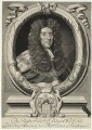 Sir Edward Ward, by Robert White, printed and sold by  John King, after  Sir Godfrey Kneller, Bt - NPG D37483